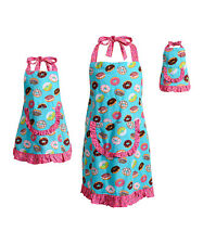 Dollie Me Girl Mommy and Doll Matching Doughnut Apron Clothes Set American Girl