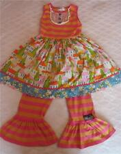 Matilda Jane Girl Good Hart Sunrise Ruffles Pant Butterfly House Ballet Dress 10