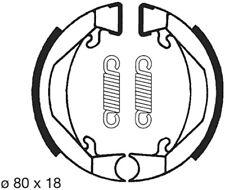 Bremsbacken 80mm Bremse für Puch Maxi, Peugeot 103, Honda PA PX, KTM MINI SX