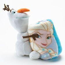 NEW Disney's Frozen Olaf Elsa Anna Hugger and Super Plush Throw Set - Super Cute
