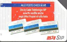 41-Scheda telefonica alle poste chiedi di me scadenza 31/12/1995 lire 10.000