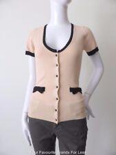 TOKITO  Short Sleeve Button Down Cardigan  Size 8  US 4