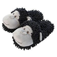 Aroma Home Fuzzy Feet Friends Chimpanzee Novelty Slippers Mules One Size UK 3-7