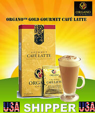 1 Box of ORGANO GOLD GOURMET CAFE LATTE  SHIPS EXPEDITE! DELIVERED IN 1-3 DAYS!