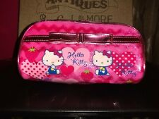 Hello Kitty small zippered make-up/cosmetic bag