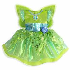 Disney Store Tinkerbell Fairy Princess Baby Deluxe Dress Costume Wings 18/24 mo