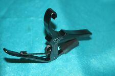Kyser Quick-Change Black Acoustic Guitar Capo + FREE Picks , KG6B,