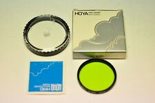 Hoya HMC 52mm X0 light green filter. New