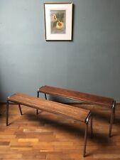 Industrial Kitchen Bench Dining Room Bench Vintage Retro Artisan British NEW