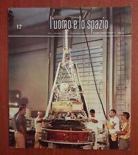 R32> L'Uomo e lo spazio n.17 anno 1965 - senza disco