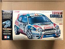 #44022 VINTAGE TAMIYA 1/8 Toyota Corolla WRC TGX GP 4WD RALLY CAR