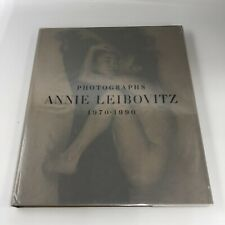 SIGNED and DATED Photographs Annie Leibovitz 1970-1990 FIRST EDITION 1991 Hrdcvr