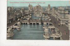 Franco British Exhibition London 1908 Court Of Honour Postcard 955a