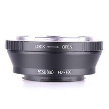 Canon FD Lens TO Fujifilm X-Mount Fuji X-Pro1 XE-2 XM2 Camera Adapter Ring Tube