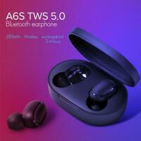 TWS A6s Auriculares Bluetooth 5.0 Mini Headset for Redmi Airdots True Wireless E