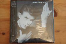 Rare David Bowie Heroes MINI Vinyl CD EMI Japan Carded Sleeve OBI