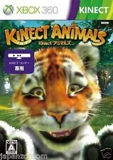 Used Xbox 360 Kinect Animals MICROSOFT JAPAN JP JAPANESE JAPONAIS IMPORT