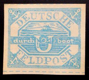 GERMANY III REICH WWII, U-BOOT  STAMP FELDPOST