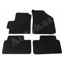 2005-2010 - antracita aguja fieltro 4tlg Alfombras tapices chevrolet matiz Av clips