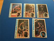 1978/79 Topps Indiana Pacers Team Set 5 Cards NM/MT