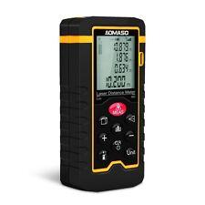 Aomaso Professional Portabler Laser-Entfernungsmesser, Digital-Maßband-60m Laser