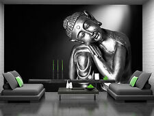Black and White Buddha Wall Mural Photo Wallpaper GIANT DECOR Paper Poster