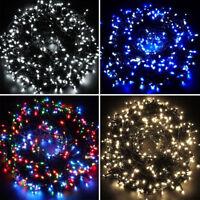 Clear Multi Colour Bulb Christmas Fairy Tree LED Lights Xmas Party Decoration -S