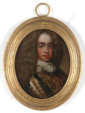 """Portrait of Duke Leopold of Lorraine"", oil on copper miniature, late 17th c."