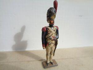 vintage CBG Mignot Soldier Napoleonic French Grenadier Guard officer, lead, JL