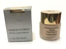 Lancome Maquicontrole Oil-Free Fluid Makeup 1.1 oz * Pale Beige * Nib