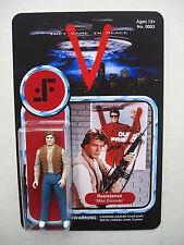 """Mike Donovan custom figure MOC V """"VISITEUR"""" vintage sci-fi tv show"""