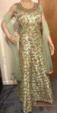 Designer Asian Anarkali Salwar Gown Suit Punjabi Indian Party Women Dress