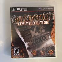 Bulletstorm -- Limited Edition (Sony PlayStation 3, 2011) Video Game w/ Booklet
