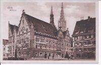 588 Ulm Rathaus um 1930 Ansichtskarte Baden Württemberg