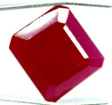 GGL Certified Offer Beautiful 7.65 Ct Natural Emerald Cut Red Ruby Mozambique
