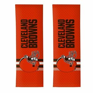 Cleveland Browns NFL Rally Seat Belt Pad Set of 2