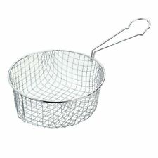 Chip Pan Basket High Quality Stainless Steel Kitchen Fryer Wire Basket 21cm