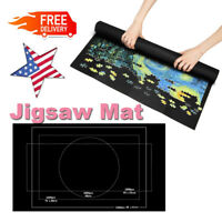 1500 Pieces Jigsaw Puzzle Storage Mat Roll Up Puzzle Felt Storage Pad Up SYF