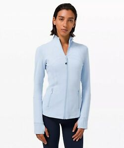 NWT authentic lululemon define jacket in Blue Linen Size 8