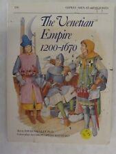 Osprey - The Venetian Empire 1200-1670 (Men-At-Arms 210)
