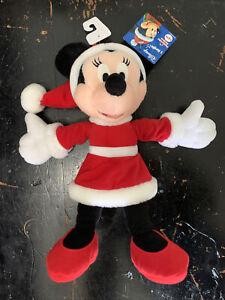 Disney Minnie Mouse Holiday / Christmas Plush Toy