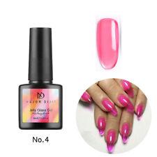 Summer Attribute UV Nail Art Polish Jelly Glass Gel Soak Off Varnish Manicure v