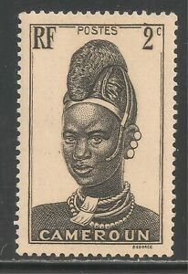 Cameroun #225 (A19) VF MNH - 1939-40 2c Mandara Woman