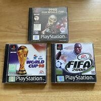 Fifa Football 98 2000 2002 World Cup Bundle - PlayStation 1 PS1 - PAL - Complete