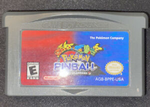 Pokemon Pinball Ruby and Sapphire (Game Boy Advance 2003) Authentic & Tested