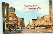 *Greetings from Oklahoma City Main Street Webers Jewelers Forum Postcard B97