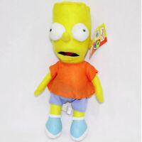 Simpsons Family Stuffed Animal Son Cartoon Animal Plush Doll Toy For Kids 30cm