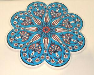 Ceramic Trivet Hot Plate Made in Turkey