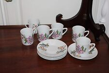 Vintage Le Jardin-Dolphin- Cups and Saucers (6)