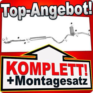 Auspuff OPEL ASTRA J 1.6 Schrägheck 115PS +Rohr Vorne Auspuffanlage 1N6